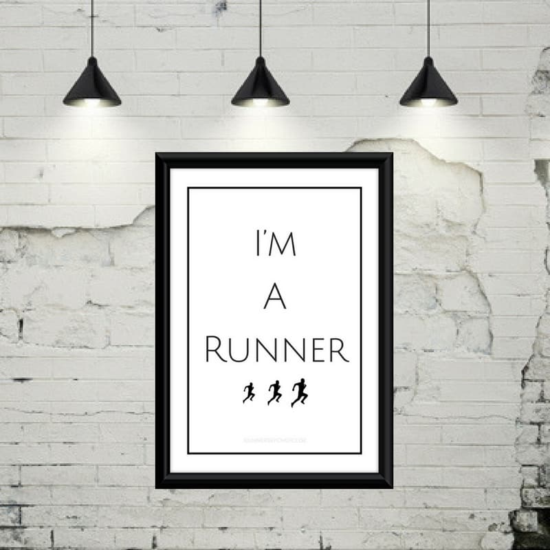 I'm a runner