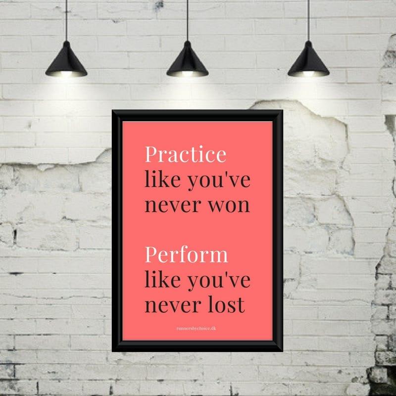 Practice like…