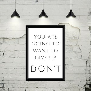 You are going to…